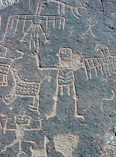 arte rupestre Toro Muerto Perú Petroglifos alteraciones