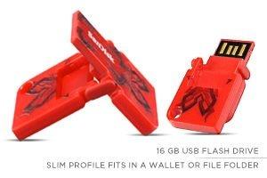 Sandisk Cruzer POP 16 GB USB Flash Drive - Red