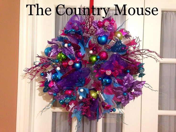 Christmas wreath by Country Mouse