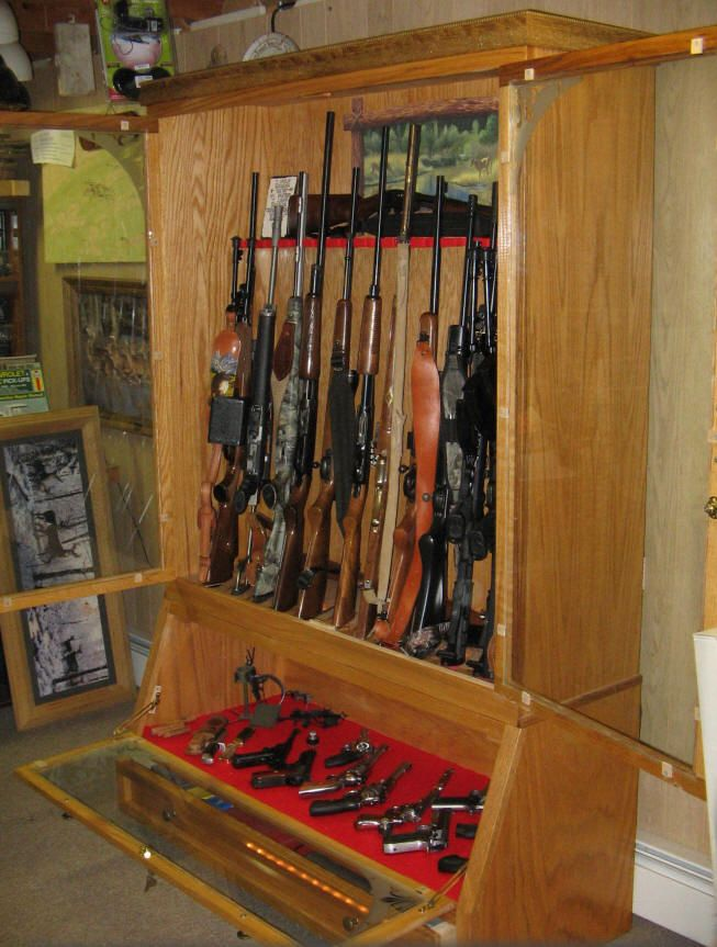 40++ Wall cabinets for guns inspiration