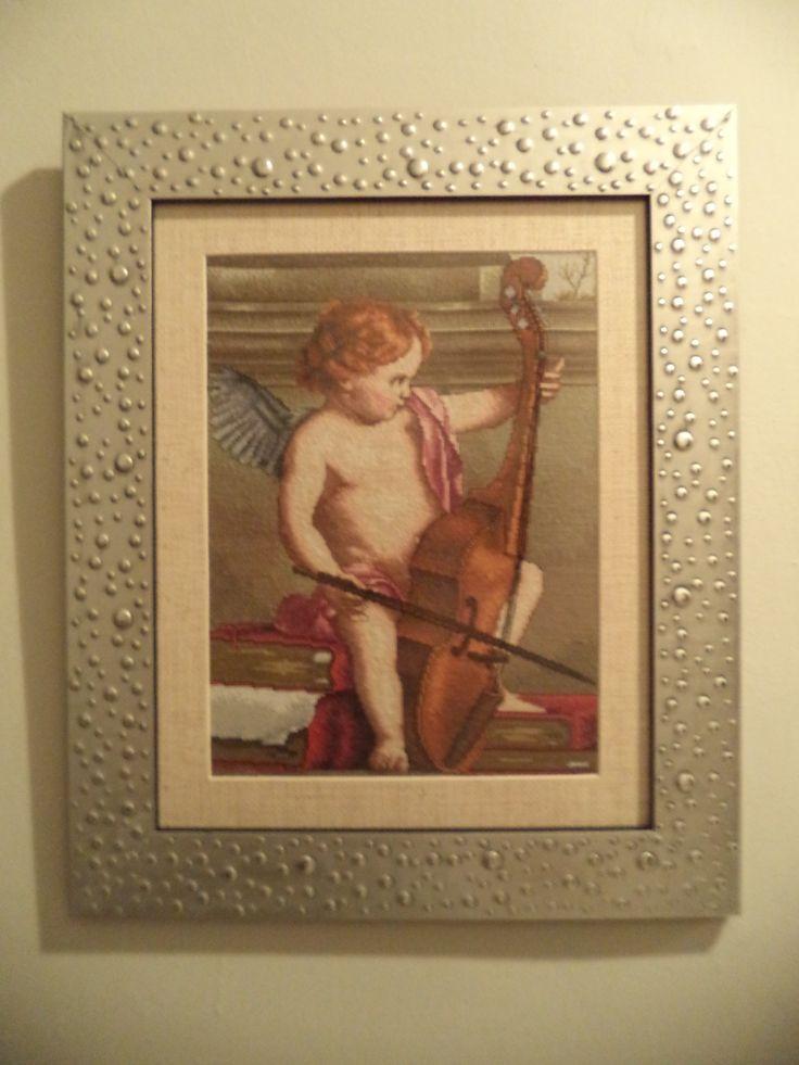 anjel con violonchelo