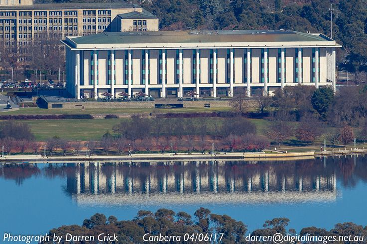 The National Library of Australia, on Lake Burley Griffin in #Canberra . #photography #cbr #Canon