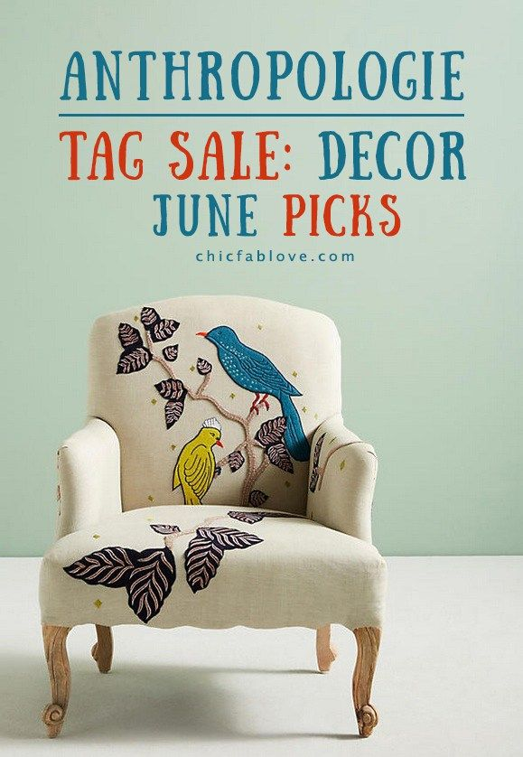 Anthropologie Tag Sale Home Decor Picks for June | Room and Walls | Kitchen | Lighting | Furniture | Curtains | Style Ideas