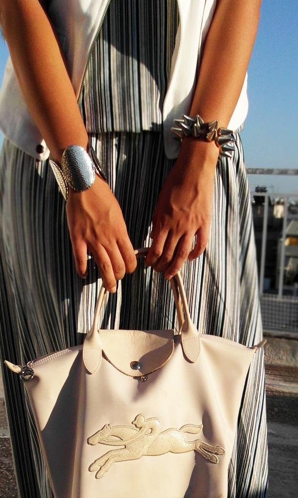 amazing oasap spike bracelet!
