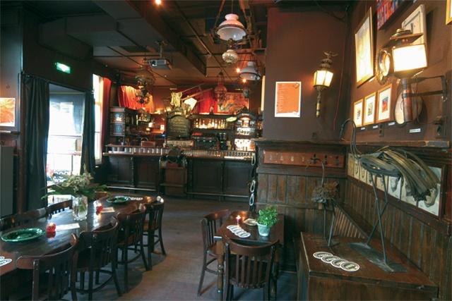 Café In den Ouden Vogelstruys / Maastricht. Bezocht met Team Juice Plus Limburg op vrijdag 28-11-2014