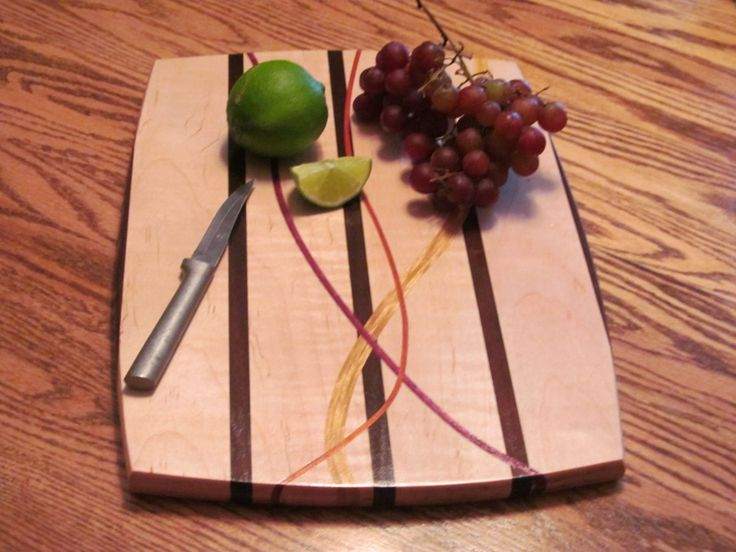 These are a couple of cutting boards I made after looking at the beautiful boards made by Scott Lewis and watching his video. This project was a learning experience on the router table, planer and...