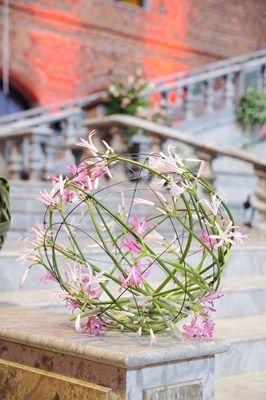 Gunnar Kaj - Floral design at the Nobel Banquet in Stockholm City Hall 2012 - Photo Charlotte Gawell.