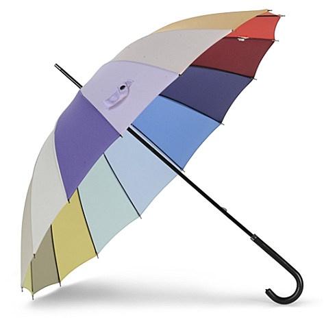 fulton soho rainbow umbrella