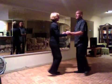 East Coast Swing Moves December 30 2012 - Simple moves, great for beginners. Derby slide, windmill, tuck turn, inside turn......