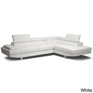 Baxton Studio Selma Leather Modern Sectional Sofa  -I found this couch today and fell in love. I can't wait to save up for it and buy it!