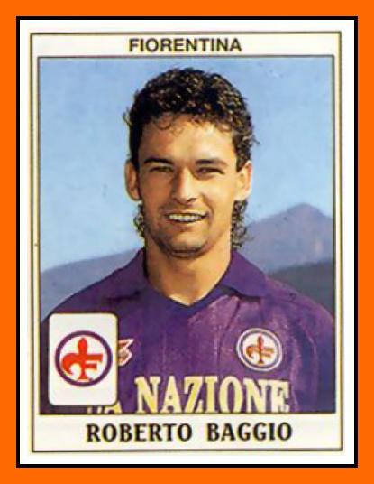 Roberto+BAGGIO+Panini+Fiorentina+1990.png 415×536 pixels