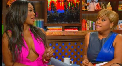 "Catfight: Kenya Moore and Sherri Shepherd Show Their Claws ON ""WWHL"" [VIDEO]"