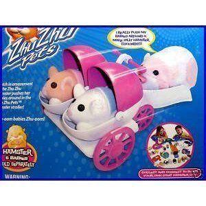 Zhu Zhu Pet Hamsters   BABY HAMSTER STROLLER by Zhu Zhu. #Hamsters #BABY #HAMSTER #STROLLER