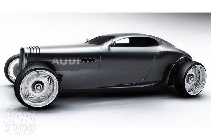 Ideas for my new street rod (More at pinterest.com/gary5mith/ideas-for-my-new-street-rod/) : Audi Hot Rod...