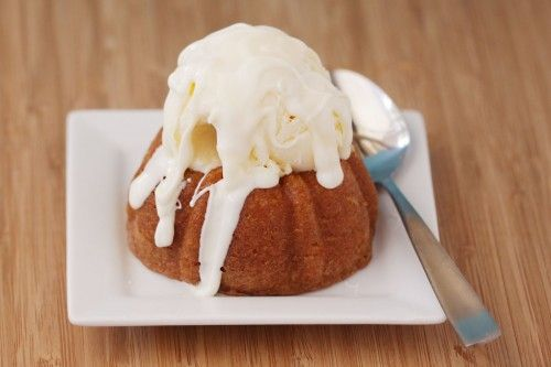 Chili's White Chocolate Molten Cake - Have to make it at home as it is no longer available at Chili's.