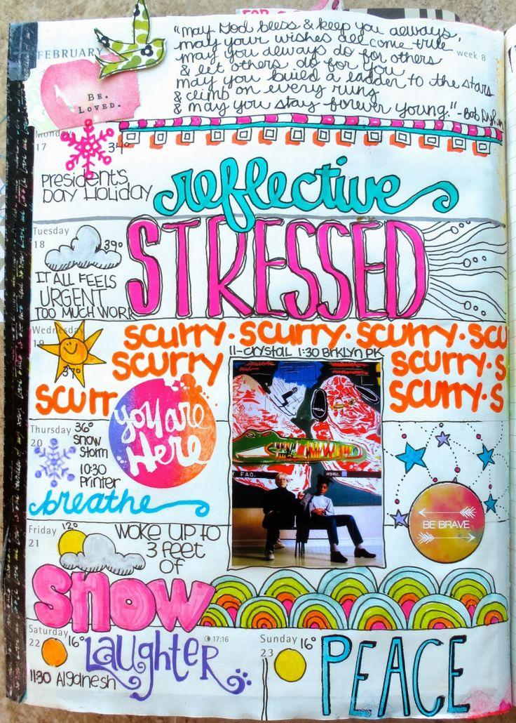 BEAUTIFUL! Inspiration Everywhere: Planner Journal Week Eight...