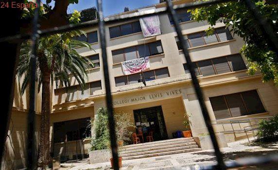 La UV reclama la «desocupación pacífica» del Luis Vives «en las próximas horas» o instará al juez a actuar