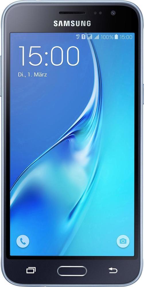 Samsung Galaxy J3 (2016) Duos LTE-Dual-SIM Smartphone 12.7 cm (5 Zoll) 1.5 GHz Quad Core 8 GB 8 Mio. Pixel Android™ 5.1 Lollipop Schwarz im Conrad Online Shop