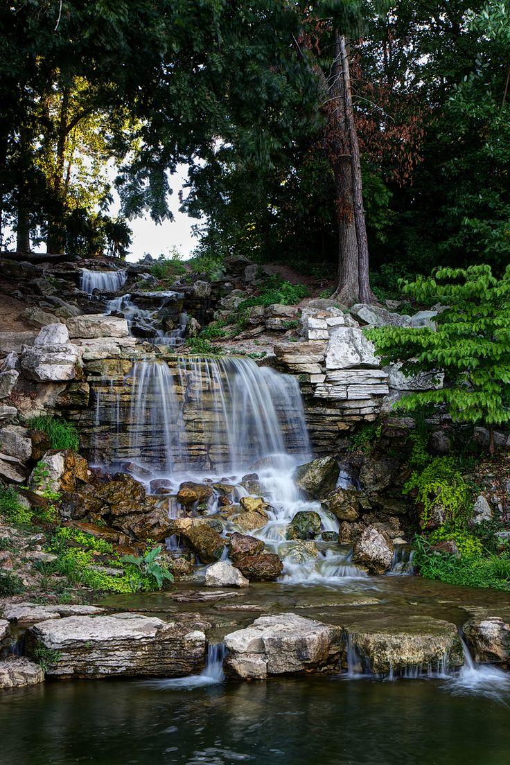 The Cascades Quot Flegel Falls Quot In Forest Park St Louis