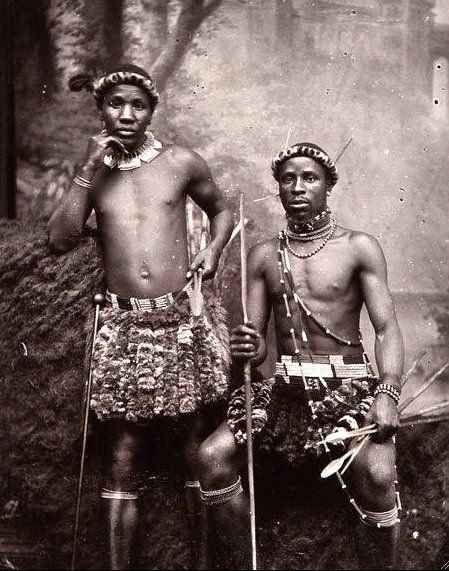 Zulu Warriors, c 1910