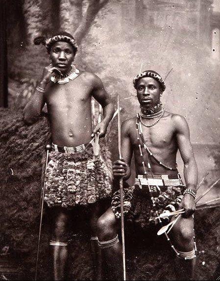 Zulu Warriors, c 1910