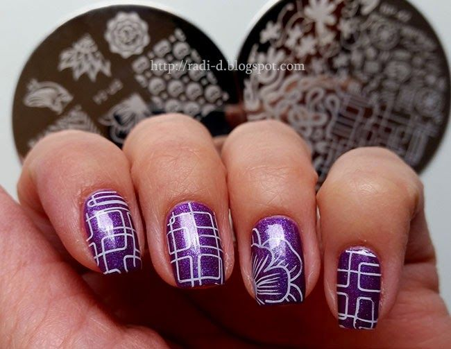 1144 best stamping nailart 2 images on pinterest nail stamping its all about nails born pretty bp 42 and bp 54 prinsesfo Image collections