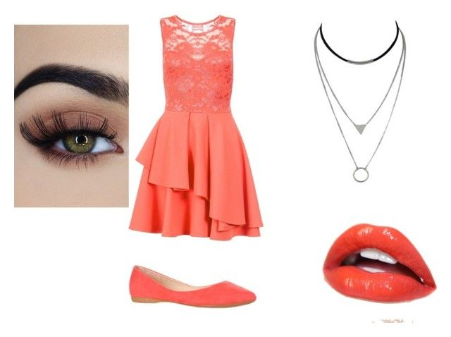 """""""Peachy Dream"""" by kawaii-dragon on Polyvore featuring Dorothy Perkins"""
