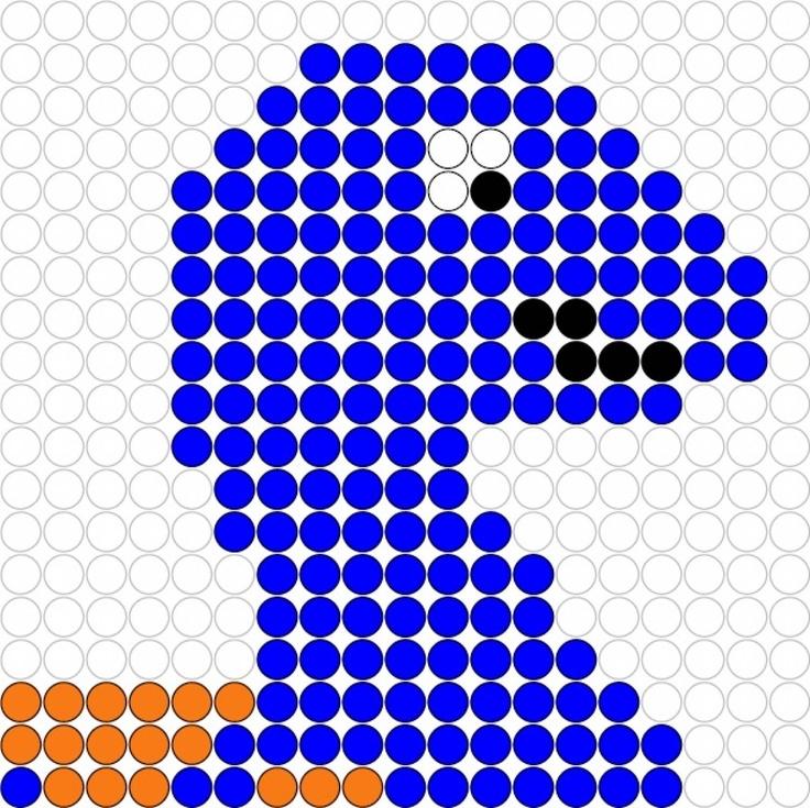 Kralenplank Dino 5