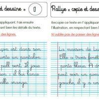 "Rallye ""copie et dessine"" CP"