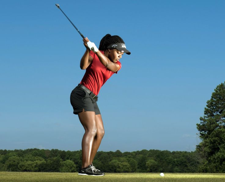 Simple tips to score from LPGA Tour rookie Mariah Stackhouse.