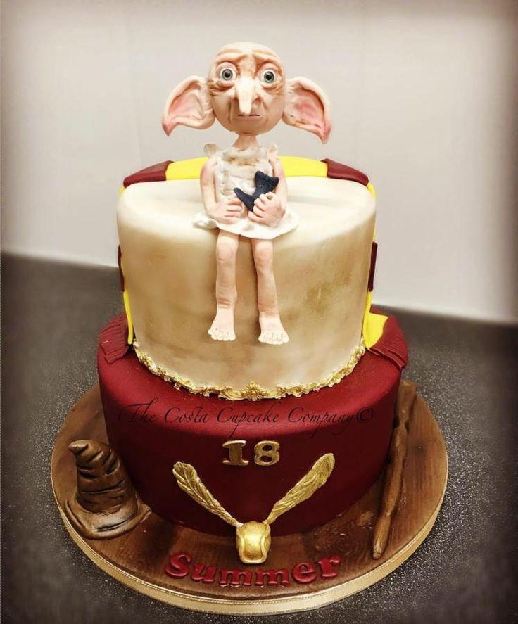 Harry Potter Dobby Cake by Costa Cupcake Company