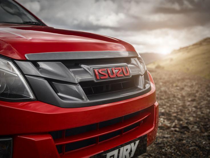 Introducing the brand new Isuzu D-Max Fury! #ISUZUFURY www.isuzu.co.uk/beware