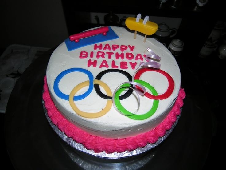 gymnastics cakes - Google Search