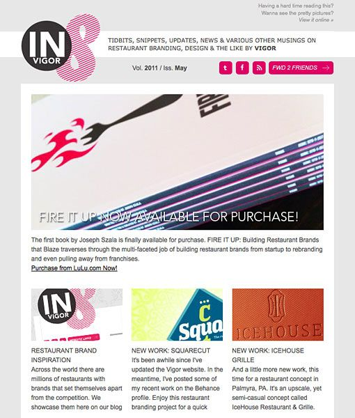 28 Fresh E-mail Newsletter Designs for Graphic Inspiration - DesignM.ag