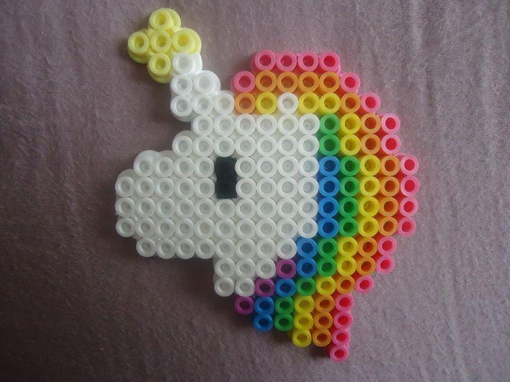 Unicorn perler beads by *PerlerHime on deviantART