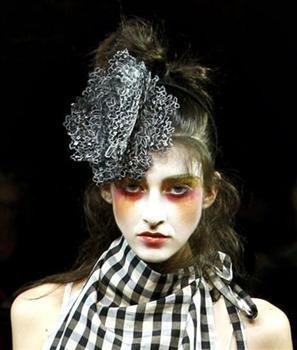 Hats for Vivienne Westwood Gold label Spring Summer 2012 - Prudence Millinery