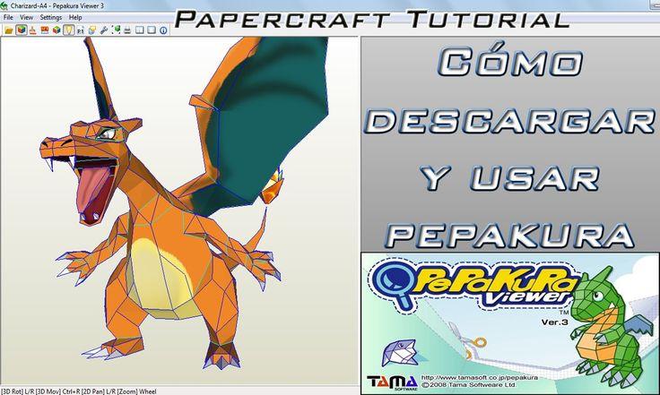 Como descargar y usar Pepakura Viewer 3 Papercraft   Consejos y tips par...