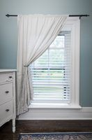 How to shorten ready made PVC blinds