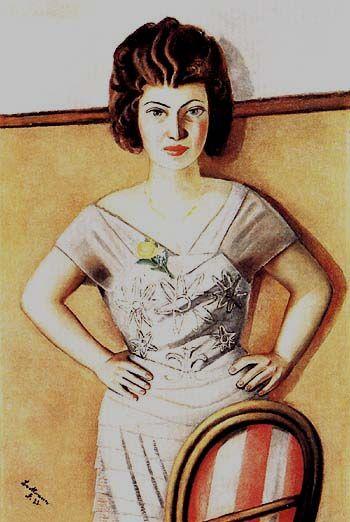 Max Beckmann Portrait of Frau Dr Heidel 1922
