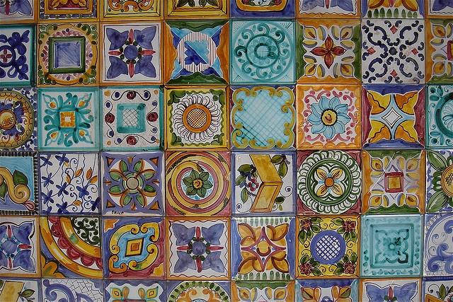 pattern - tiles by Toni F., via Flickr