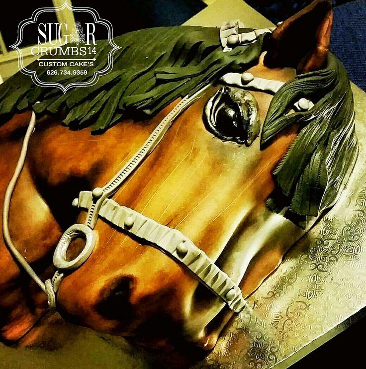 Horse inspired cake