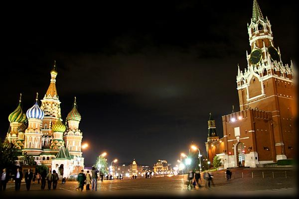 candy castles in Russia