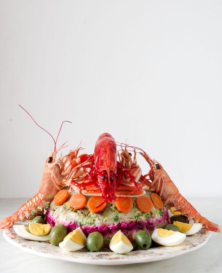 Il Cappon magro: la più fastosa e festosa insalata di pesce.