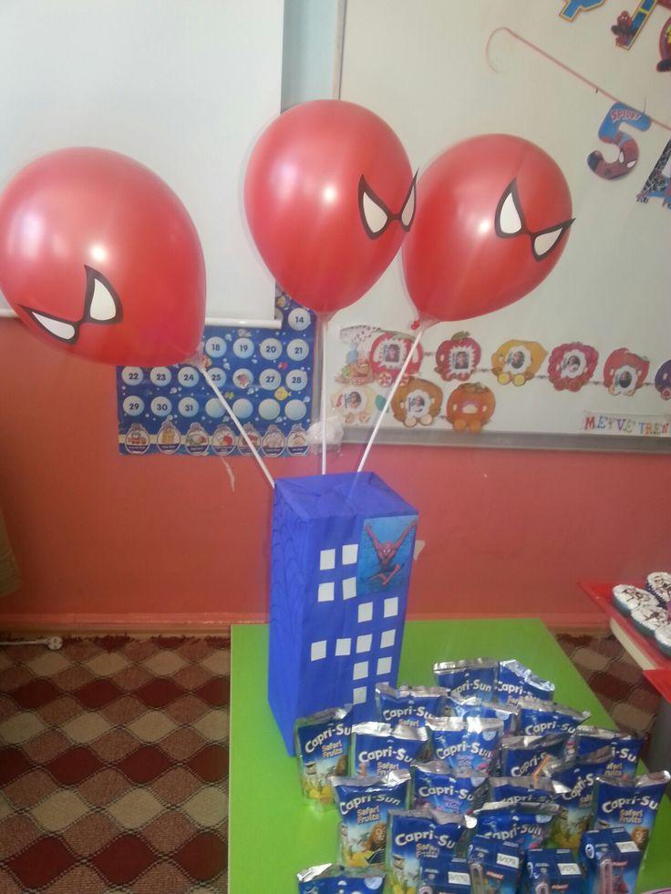 örümcek adam balon