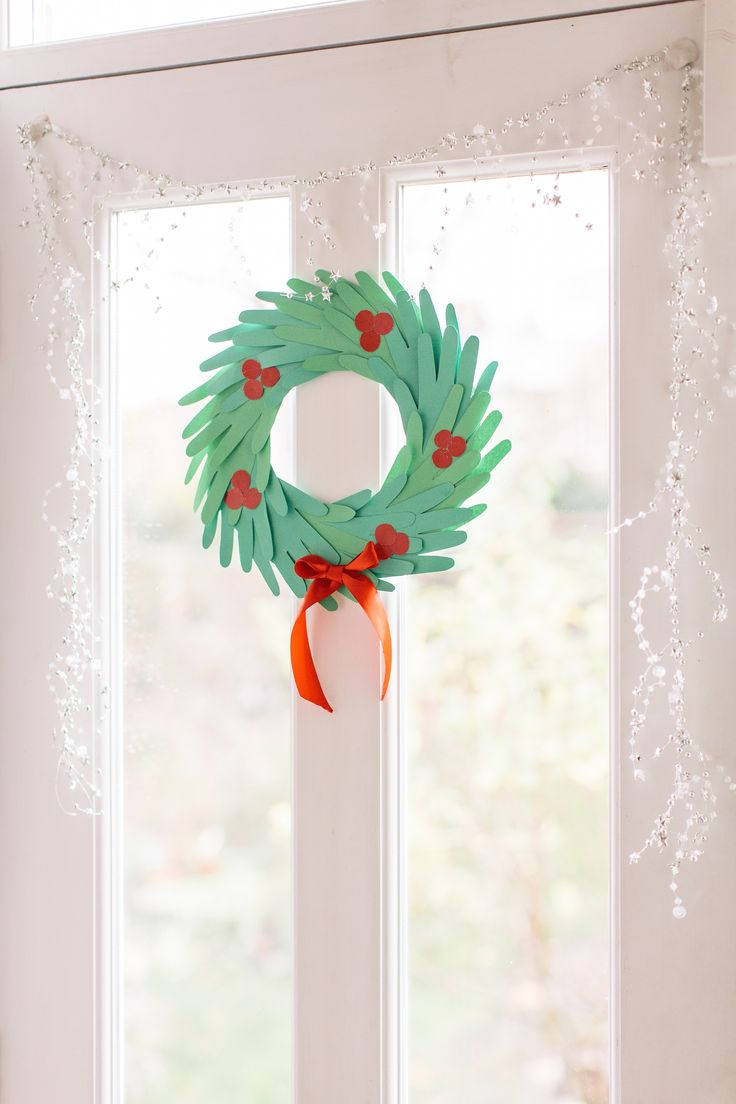 Not only a great Christmas activity to keep the kids amused, but a unique idea for creating a totally personalised wreath. It's simple, easy and lots of fun.