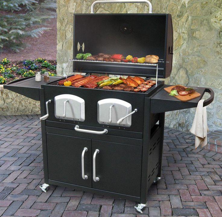 Fabriquer un barbecue : 20+ idées originales de barbecue fait maison   Barbecue à charbon ...