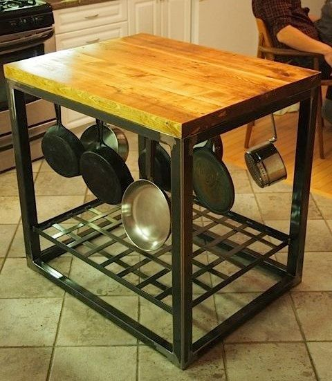 Kitchen Island by BadgerServices on Etsy