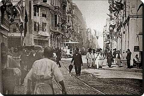 1910 istiklal caddesi