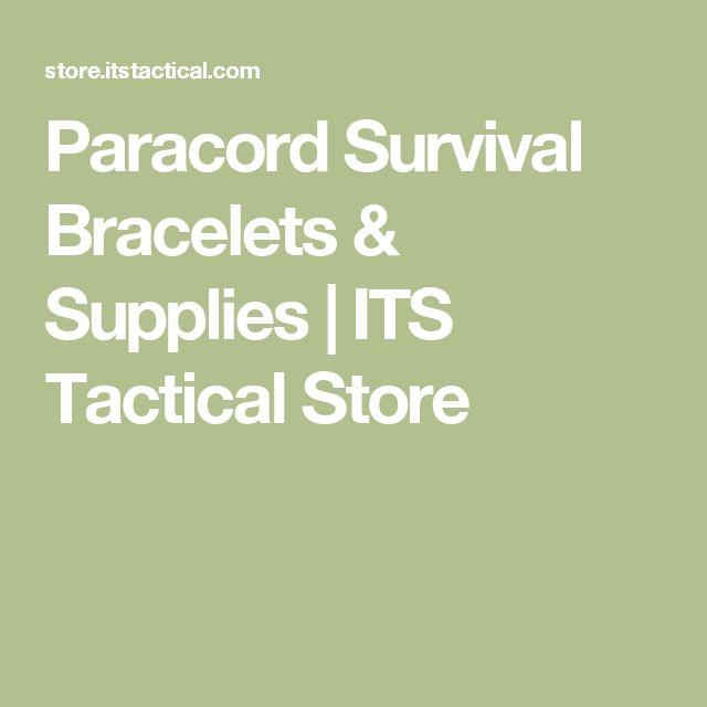 Paracord Survival Bracelets & Supplies | ITS Tactical Store