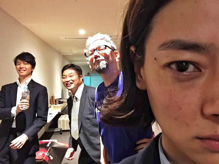 """松尾 諭さんのツイート: """"本日はご来場ご視聴ありがとうございました。尾頭さんによる恒例の一枚。まさかの逆水ドンで脳細胞がかなりやられました。…"""